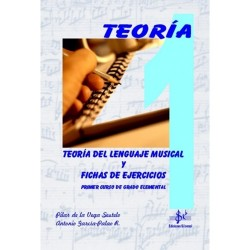 Teoría del Lenguaje Musical y Fichas de Ejercicios (Curso 1º)