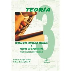 Teoría del Lenguaje Musical y Fichas de Ejercicios (Curso 3º)