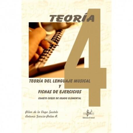 Teoría del Lenguaje Musical y Fichas de Ejercicios (Curso 4º)