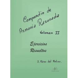 Compendio de Armonía Razonada Vol. 2 Ejercicios Resueltos