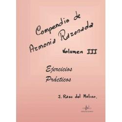 Compendio de Armonía Razonada Vol. 3 Ejercicios Prácticos