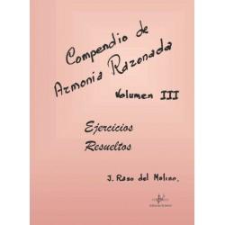 Compendio de Armonía Razonada Vol. 3 Ejercicios Resueltos