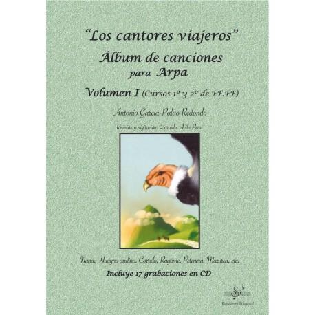 Los cantores viajeros. Álbum para Arpa. Vol.1