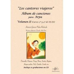 Los cantores viajeros. Álbum para Arpa. Vol.2