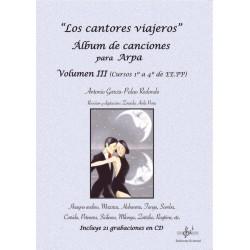 Los cantores viajeros. Álbum para Arpa. Vol.3