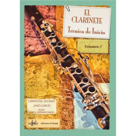 El Clarinete. Técnica de Inicio. Vol. 3