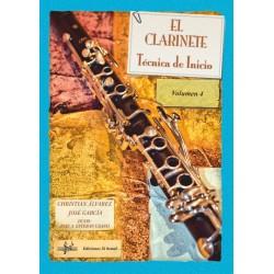 El Clarinete. Técnica de Inicio. Vol. 4