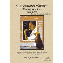 """""""Los Cantores viajeros"""" - Álbum de canciones para coro (Con CD)"""