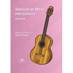 Selección de Obras para Guitarra. Curso 3º