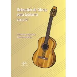 Selección de Obras para Guitarra. Curso 4º