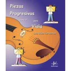 Piezas progresivas para Viola - Libro 1º
