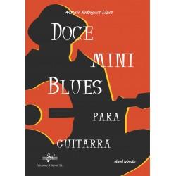 Doce Mini Blues para Guitarra - Nivel Medio