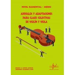 Arreglos y Adaptaciones para Clases Colectivas de Violín y Viola