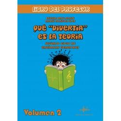 """Qué """"divertía"""" es la teoría 2 - Libro del Profesor (con CD)"""