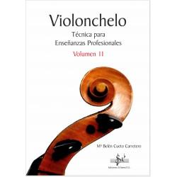 Violonchelo - Tecnica para Enseñanzas Profesionales