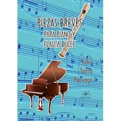 Piezas Breves para Piano y Flauta Dulce