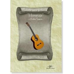"""Sonata para Guitarra """"Homenaje"""" - a Andrés Segovia"""
