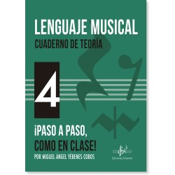 Lenguaje Musical - Cuaderno de Teoría 4