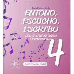 ENTONO, ESCUCHO, ESCRIBO 4