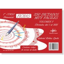 250 Dictados Muy Fáciles Vol. 1 (1º LOGSE)