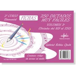 250 Dictados Muy Fáciles Vol. 2 (2º LOGSE)