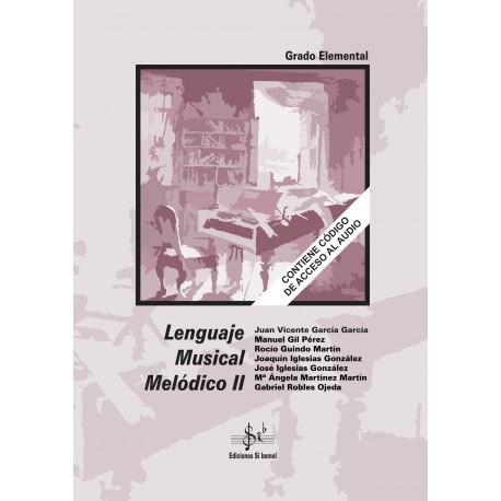 Lenguaje Musical Melódico II (con CD)