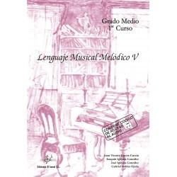 Lenguaje Musical Melódico V (con CD)
