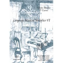 Lenguaje Musical Melódico VI (audio en APP)