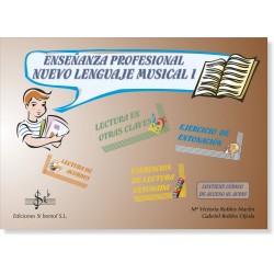 Enseñanzas Profesionales. Nuevo Lenguaje Musical 1 (audio en APP)