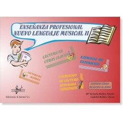 Enseñanzas Profesionales. Nuevo Lenguaje Musical 2 (audio en APP)