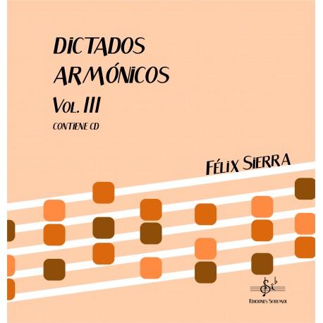 Dictados Armónicos Vol.III (Audio en App)