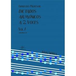 Dictados Armónicos a 2 Voces Vol.I (Audio en App)