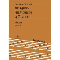 Dictados Armónicos a 2 Voces Vol.II (Audio en App)