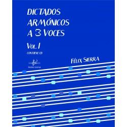 Dictados Armónicos a 3 Voces Vol.I (Audio en App)