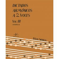 Dictados Armónicos a 2 Voces Vol.III (Audio en App)