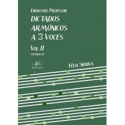 Dictados Armónicos a 3 Voces prof. Vol.II (Audio en App)
