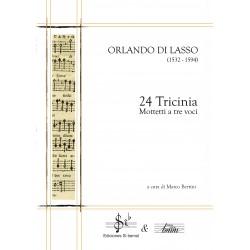 24 Tricinia (Mottetti a tre voci) O. Di Lasso