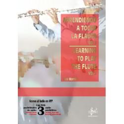 Aprendiendo a tocar la Flauta 1